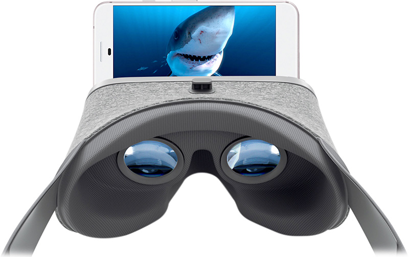 visuel d'un google daydream pour la formation en réalité virtuelle