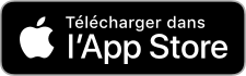 Bouton télécharger l'application microlearning sur l'App Store