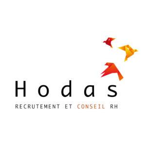 Logo Hodas RH - recrutement bienveillant