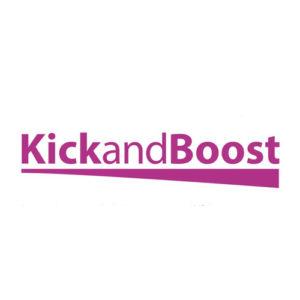 Logo KickandBoost plateforme de crowdfunding immateriel
