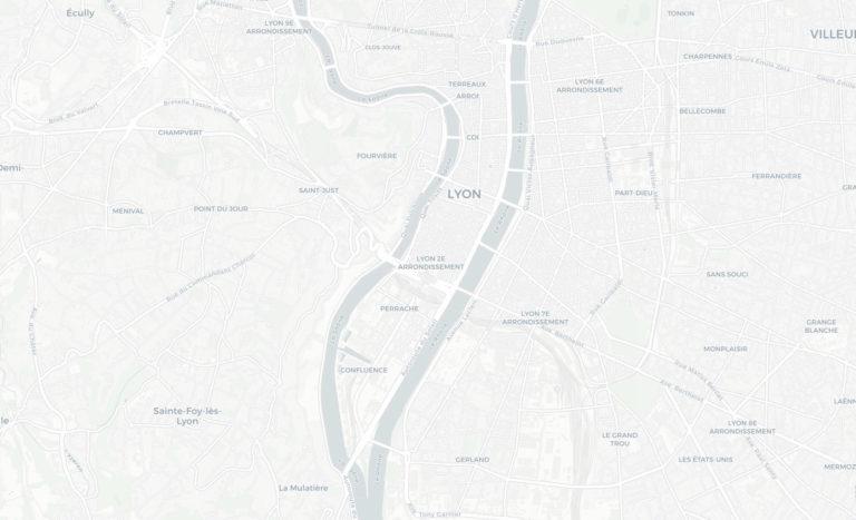 Carte, plan de localisation societe Seekoya à Lyon