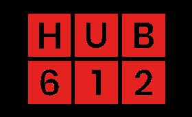 Logo du HUB612 qui héberge Seekoya